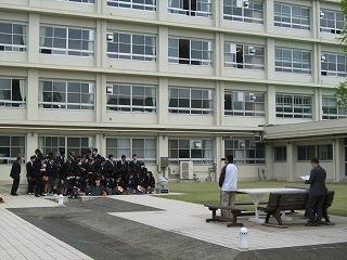 クラス写真撮影